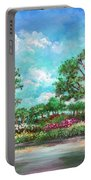 Summer In The Garden Of Eden Portable Battery Charger