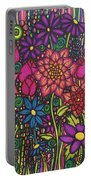 Garden Of Happiness  Portable Battery Charger