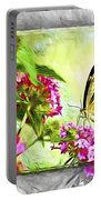 Garden Of Love Portable Battery Charger