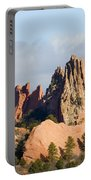 Garden Of The Gods Colorado Springs Portable Battery Charger
