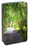 Garden Path In Spring Portable Battery Charger