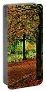Garden Path, Schloss Biebrich Portable Battery Charger