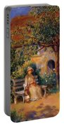 Garden Scene In Brittany 1886 Portable Battery Charger