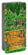 Garden Sketches 1 Portable Battery Charger