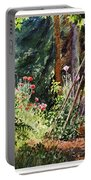 Garden View Window Portable Battery Charger