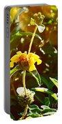 Garden Yellow Portable Battery Charger