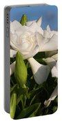 Gardenia Flowers Portable Battery Charger