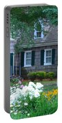 Gardens At The Burton-ingram House - Lewes Delaware Portable Battery Charger