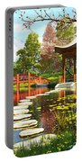 Gardens Of Fuji Portable Battery Charger