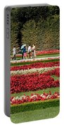 Gardens Of The Schloss  Schonbrunn  Vienna Austria Portable Battery Charger