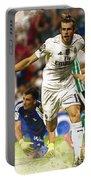 Gareth Bale Celebrates His Goal  Portable Battery Charger