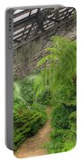 Garfield Park Conservatory Path Chicago Portable Battery Charger