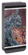 Gargoyle Madness Portable Battery Charger