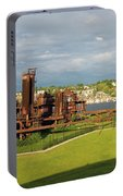Gas Works Park In Seattle Washington Portable Battery Charger