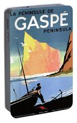 Gaspe Peninsula, Coast, Canada Portable Battery Charger