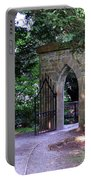 Gate At Cong Abbey Cong Ireland Portable Battery Charger