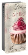 Gateau Framboise Patisserie Portable Battery Charger