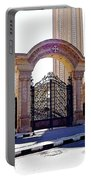 Gates Of Archangel Michael Cathedral Portable Battery Charger