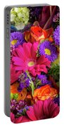 Gathered Garden Flowers Portable Battery Charger