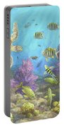 Gathering In The Reef Portable Battery Charger