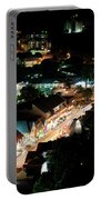Gatlinburg, Tennessee At Night From The Space Needle Portable Battery Charger