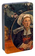 Gaugin: Belle Angele, 1889 Portable Battery Charger