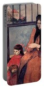 Gaugin: Family, 1889 Portable Battery Charger