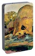 Gauguin: Haystacks, 1889 Portable Battery Charger