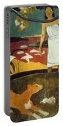 Gauguin: Pastoral, 19th C Portable Battery Charger