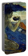Gauguin: Pirogue, 19th C Portable Battery Charger