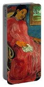 Gauguin: Reverie, 1891 Portable Battery Charger