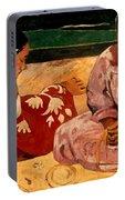Gauguin: Tahiti Women, 1891 Portable Battery Charger