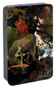 Gauguin: White Horse, 1898 Portable Battery Charger