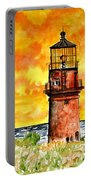 Gay Head Lighthouse Martha's Vineyard Portable Battery Charger