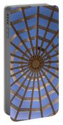 Gazebo Blue Sky Abstract Portable Battery Charger