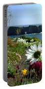 Gazing Toward The Sea Portable Battery Charger