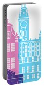 Gdansk Skyline Pop Portable Battery Charger