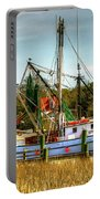 Geechie Seafood Shrimp Boats Portable Battery Charger