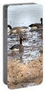 Geese Hangout Portable Battery Charger