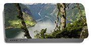 Geiranger Fjord Portable Battery Charger