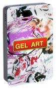 Gel Art #1 Portable Battery Charger