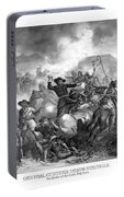 General Custer's Death Struggle  Portable Battery Charger