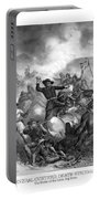 General Custer's Death Struggle  Portable Battery Charger by War Is Hell Store