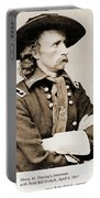 General George Custer Portable Battery Charger