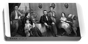 General Grant And His Family Portable Battery Charger