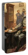 General Grant Meets Robert E Lee  Portable Battery Charger by English School