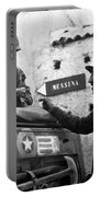 General Patton In Sicily Portable Battery Charger by War Is Hell Store