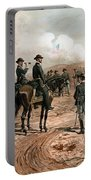 General Sherman Observing The Siege Of Atlanta Portable Battery Charger