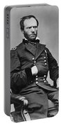 General William Sherman Portable Battery Charger by War Is Hell Store