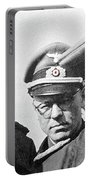 Generalfeldmarschall  Erwin Rommel And Staff Number 1 North Africa 1942 Color Added 2016 Portable Battery Charger